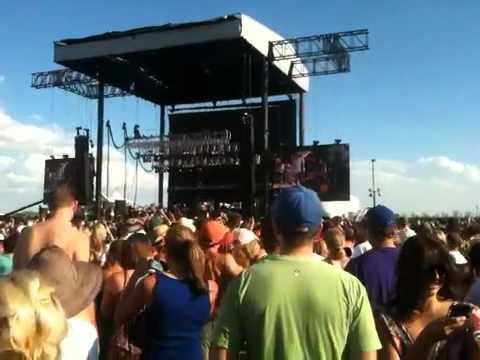 Denver Mile High Music Festival - Train