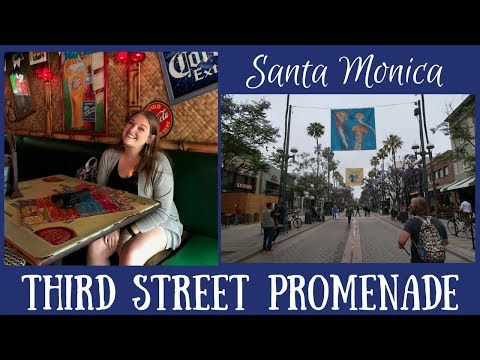 SANTA MONICA: Third Street Promenade & Lunch at Cabo Cantina