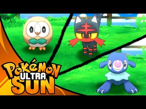 WHICH STARTER TO PICK?! Pokemon Ultra Sun Let's Play Walkthrough Episode 1