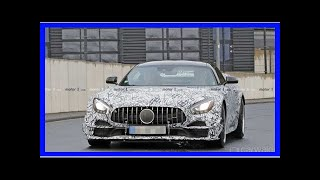 Mercedes-AMG GT R crosses over to the dark side | k production channel