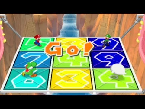 Mario Party 7 - All Duel & Battle Minigames