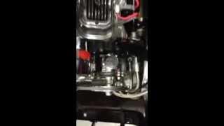 1965 GTO custom built 455 exhaust sound open headers