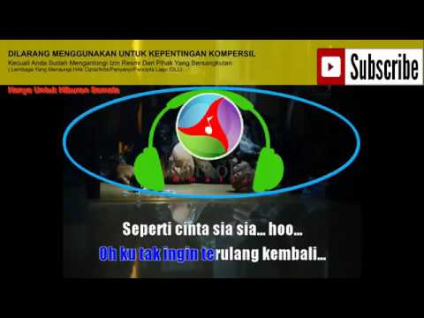 Rija Abbas   Cinta Sia Sia   Karaoke version   karaoke amatir