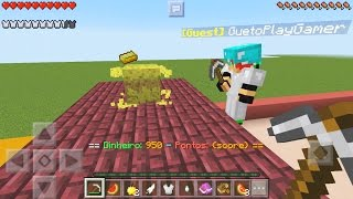 UM SONHO FINALMENTE LUCKY BLOCK MULTIPLAYER NO MINECRAFT POCKET EDITION