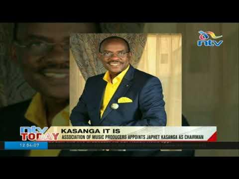 Association of music producers appoints Japhet Kasanga as chairman