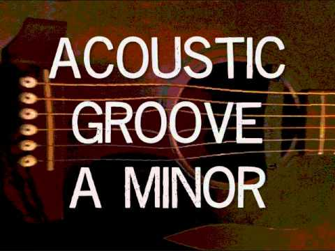 Epic Acoustic Groove Backing Track - A Minor (Dorian Mode)