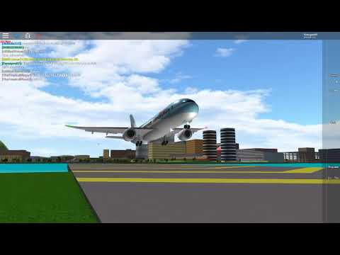 plane spotting (Roblox Place With Airliners)