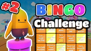 BINGO Challenge #2 - New Tiles ► Fall Guys
