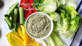 White Bean Dip With Vegetable Sticks | Dietplan-101.com