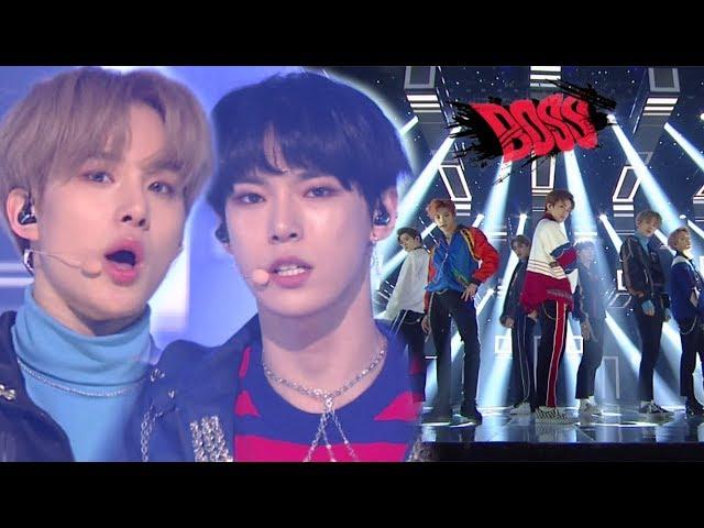 《POWERFUL》 NCT U(엔시티 유) - BOSS @인기가요 Inkigayo 20180304