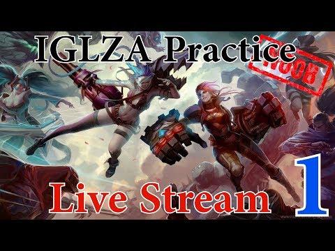 IGLZA Team Practice  | League of Legends | Live Stream | South Africa | Ep. 1