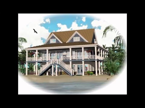 Coastal House Plans   Coastal Living House Plans   Coastal Cottage House Plans