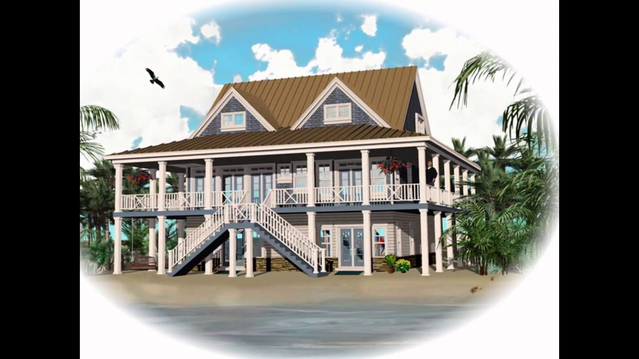 Coastal house plans coastal living house plans coastal cottage house plans youtube - Coastal home design ...