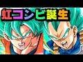 【ドッカンバトル】Wブルー!相性バッチリ虹コンビが完成!【Dragon Ball Z Dokkan Battle】