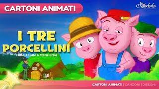 I Tre Porcellini 😊 storie per bambini - Cartoni Animati - Fiabe e Favole per Bambini