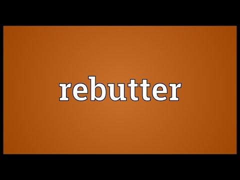 Header of rebutter