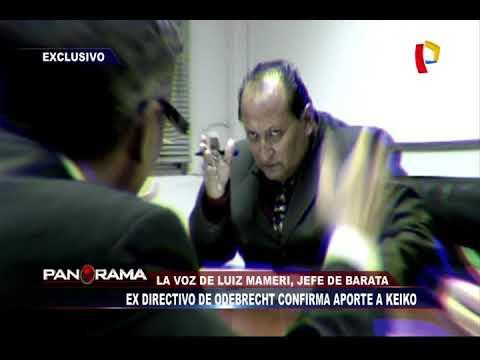 Ex directivo de Odebrecht confirma aporte a Keiko Fujimori