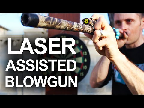 How To Make A Laser Assisted Blowgun
