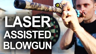 How To Make A Laser Assisted Blowgun(How to make a surprisingly powerful laser assisted blowgun, for under $3. Because of multiple requests for build plans, I spent 3 days putting together a detailed ..., 2015-01-28T15:29:47.000Z)