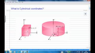 Intro to cylindrical coordinates