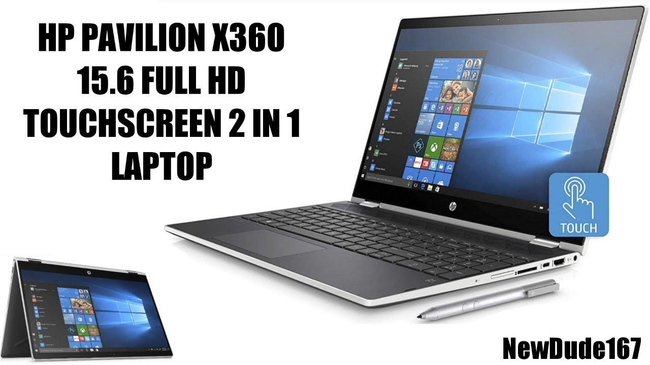 17b6373823ed BRAND NEW HP PAVILION X360 15.6 FULL HD TOUCHSCREEN 2 IN 1 LAPTOP REVIEW