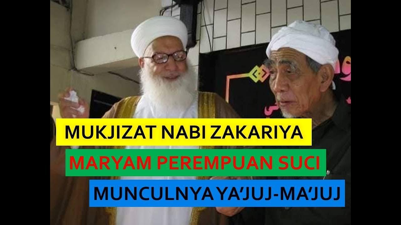 Ngaji Tafsir Mbah Maimoen Tafsir Surat Al Anbiya Ayat 89 97