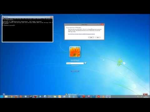 Reset/ Hack Windows passwords using only the command prompt.Windows 7,8 & 10