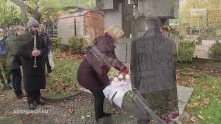 Rbb Abendschau: 81 years for the Kristallnacht pogroms memorial ceremony