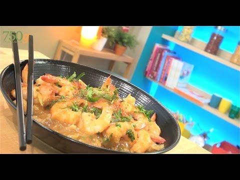recette-de-crevettes-sauce-piquante---750g