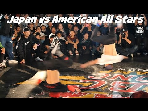 Japan Bboys vs America Bboys. Red Bull BC One Continent Battle 2016