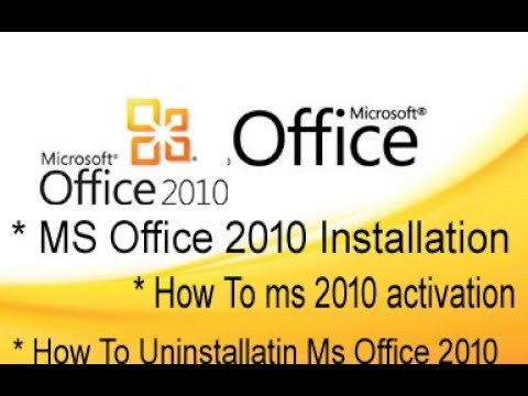 how to remove ms office activation