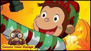 Curioso come George 🎃Speciale di HALLOWEEN - Costume da pirata 🎃Cartoni Animati 🐵George la Scimmia