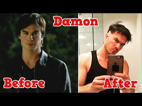 The Vampire Diaries ★ Before And After 2019