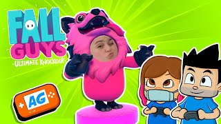 Fall GUYS con Karla ART y BigManu PRO | Abrelo Game Fall Guys Ultimate Knockout