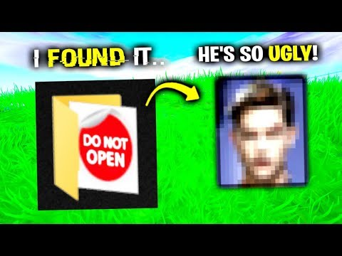 I Found His REAL Face Reveal.. (Fortnite)