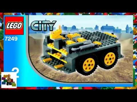 LEGO instructions - City - Construction - 7249 - XXL Mobile Crane (Book 2)