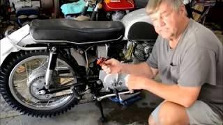 Honda CL77 rectifier replacement