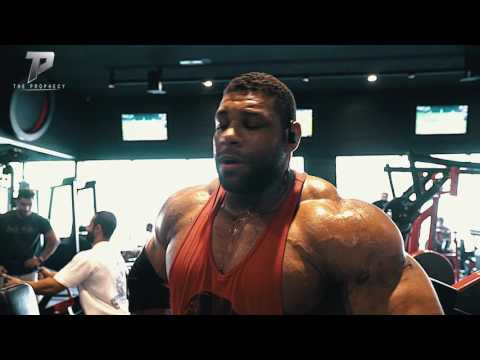 Nathan De asha road to the Mr Olympia