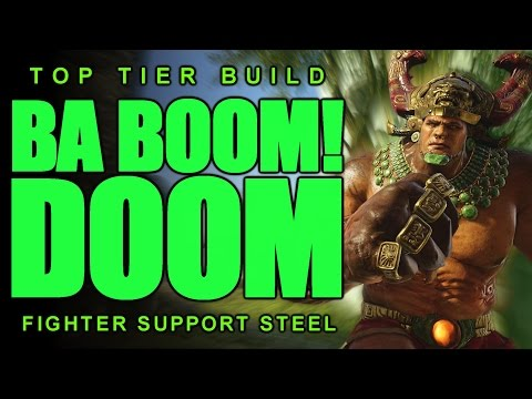 Paragon: Top Tier STEEL Build/Guide | Pseudo-Tank/Fighter Frontline!
