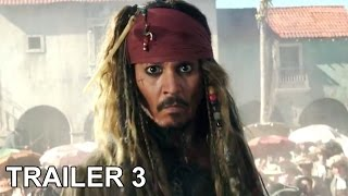 Video: Piratas del Caribe: La venganza de Salazar / Trailer 3