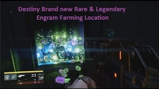 Destiny Brand New Loot Cave Engram Farming Location  (With Legendary Engram drop!)