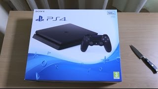 PS4 Slim - Unboxing & First look! (4K)