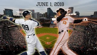 New York Yankees vs Baltimore Orioles Highlights || June 1, 2018