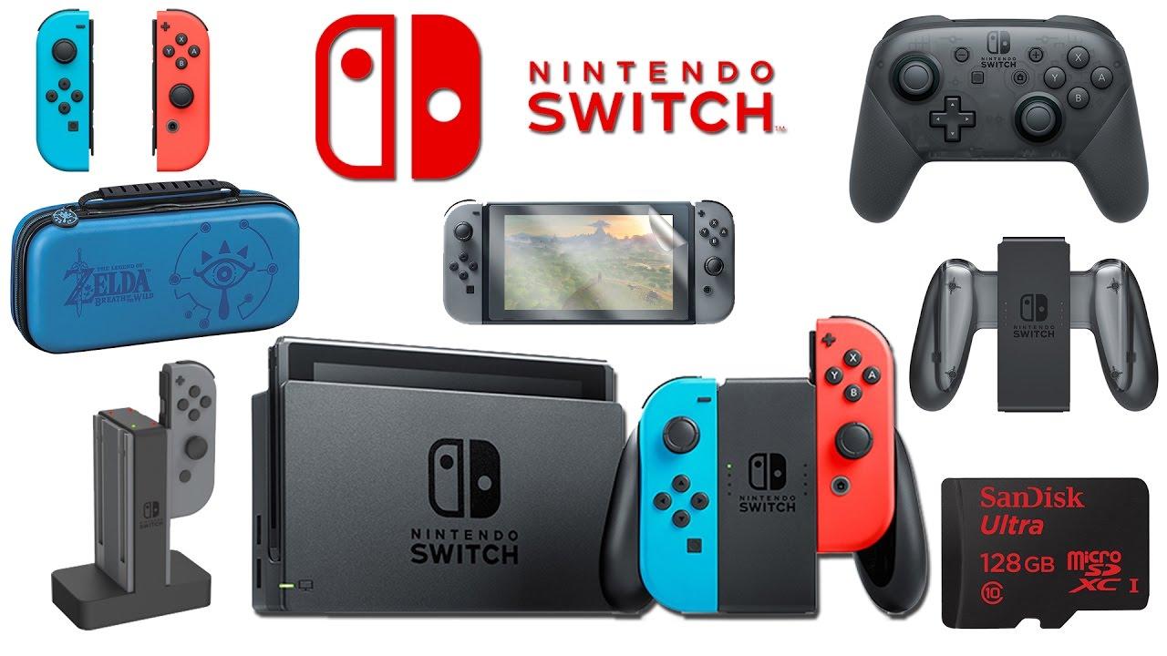 Mới mua máy Switch, có cần mua thêm phụ kiện ?