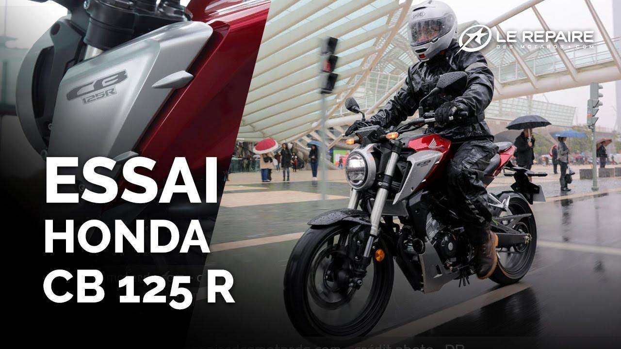 Essai Honda Cb 125 R Modele 2018