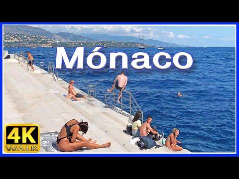 【4K】WALK MONACO 4k virtual walk tour SLOW TV Travel Channel