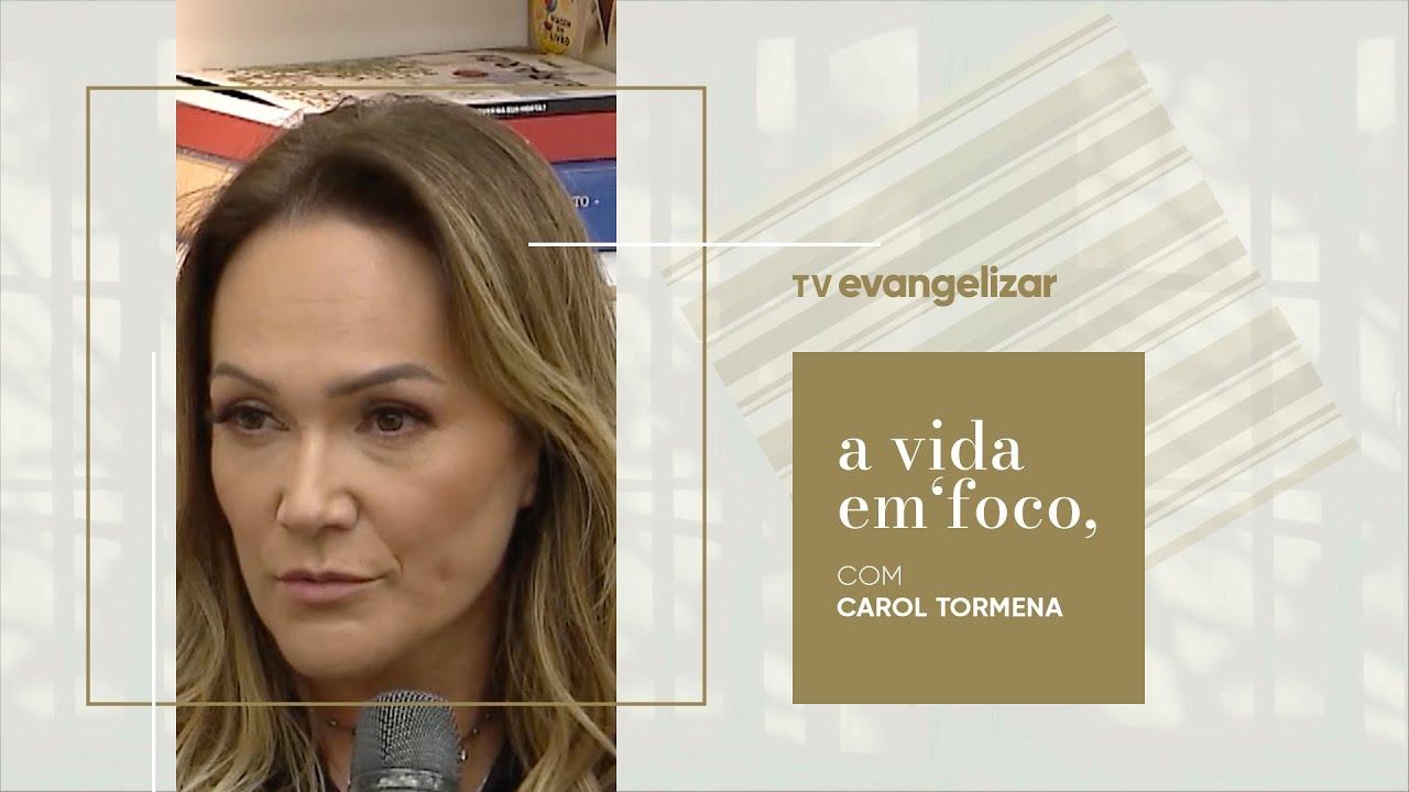 """Psicóloga Mari Balzer no programa """"A Vida em Foco"""""""
