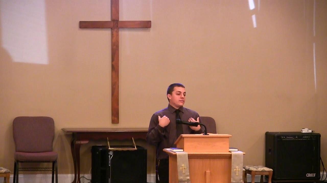 Video Sermons - Acts 2 - Holy Spirit - Jacob Percival - New Hope Christian Chapel