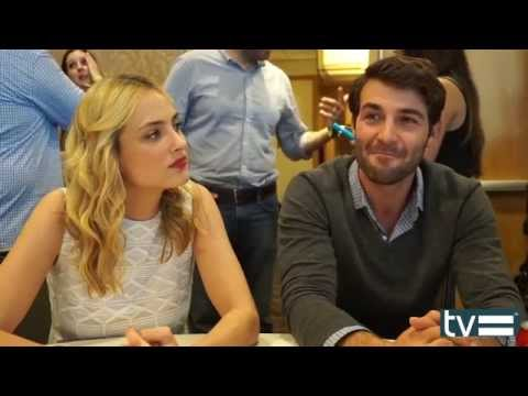 Nora Arnezeder & James Wolk   Zoo CBS