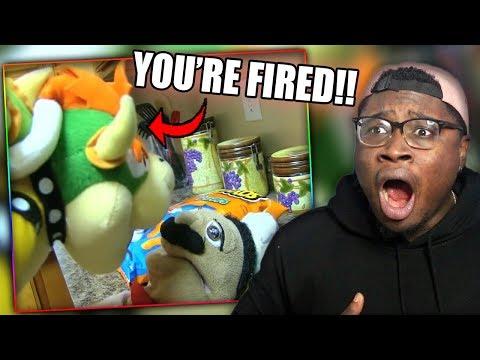 BOWSER FIRES CHEF PEE PEE! | SML Movie: Ratatouille Reaction!